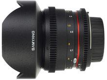 Samyang 14mm T3.1 AS UMC VDSLR Video Lens for Nikon