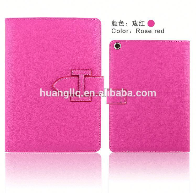 Gros flip étui en cuir pour Hermes style pour ipad air 2 Made in China