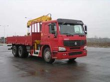 HOWO LORRY TRUCK WITH CRANE 18 Ton