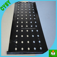 factory supply black and white agricultural mulching film/agriculture mulch plastic film