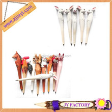 New 2014 novelty for wooden animal shaped pens for children