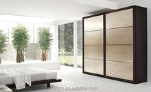 Bedroom closet wood wardrobe, plywood cabinets wall almirah designs
