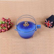 16cm cast iron enamel tea kettle boiler inner door