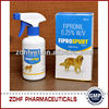 Pet medicine Insecticide fipronil spray 0.25% Manufacturers For Pets