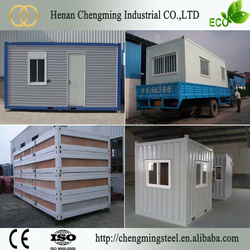 Metal Frame Stable Raintight New Caledonia Hot Sale Iso 9001 Certificated Portable Modular Container Office