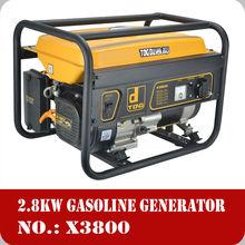 China 2.8kw gasoline 12v dc generator