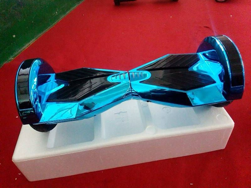 Lambo Hoverboard Balance Scooter Chrome Gold 2 Wheel