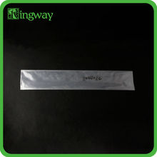 80 microns flat clear transparent high quanlity thicker plastic PE bag