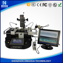 Dinghua DH-A1L-C with soldering iron+laser positioning+ CCD camera monitor system bga rework station for pcb chip repair