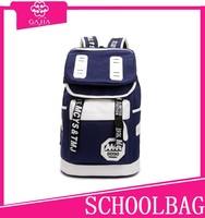12.5USD Basic style Teenage fashion color oxford school bag with good quality