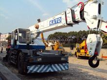 25 ton KATO rough terrain crane for sale in Shanghai/ used 25t rough terrain crane in good condition/used 25ton rough crane