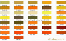 Reasonable & acceptable price factory directly metallic gold powder coating paint