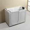 Q371 corner whirlpool best acrylic small corner bathtub for disabled