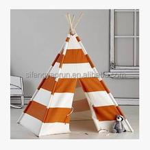 2015 de alta qualidade cônico tenda das crianças sala de jogos tenda indiana telhado quadrado de madeira tenda