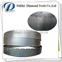 Diamond Band Saw Blade For Stone Wet Cutting Marble Slab Used On Band Saw Blade Machine