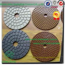 "4"" dry polishing pad for stone marble grinding and polishing,high quality stone polishing pad for marble slab"