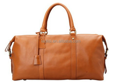 100% genuine leather private label polo vantage luggage bag parts