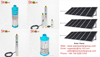 2015 China hot sell solar water pump for irrigation or deep well