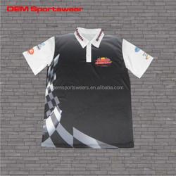 Pit crew racing clothing custom wholesale motocross shirt