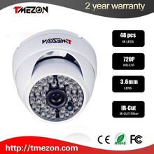 """Hot selling security system camera 2.0MP 1/2.5"""" SONY IMX222+TI DM365 1080P 40m ir distance network camera"""