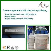 two-part silicone encapsulating for power supply