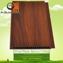 High Quality Worm Proof Wood Plastic Decorative Wood Wall Board Panels