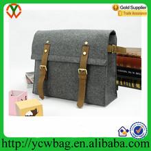 Manual shoulder bag washable wool felt messenger bag