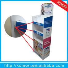 Displays de papelão para casos de telefone celular