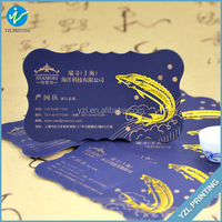 Sample visiting card with multicolor, cheap business card printing