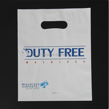 hot sale custom plastic shopping bags with logo