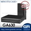 GA630 Car PC Mini PC Computer Case Mini ITX