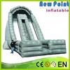 New Point PVC trampoline Inflatable Double Lane Slip Slide for kids