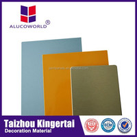 Alucoworld ACP 1220*2440 Standard and Customized ACM Panels plastic shower wall panels