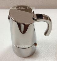 Stainless Steel coffee maker moka pot high quality
