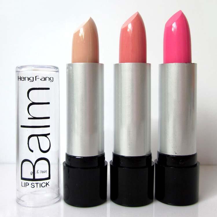 длительное 3 шт/установить красочные temping помады 12 цвет чистый цвет крем для губ, матовая помада h113
