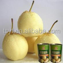 2014 New Crop pear Canned Fruit and vegetable in Heavy Syrup