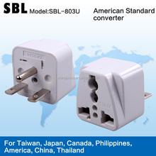 American conversion plug, Adapter plug, American standard universal adapter plugs