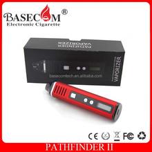 Newest pathfinder II kit rex dry herb vaporizer pen use for dry herb with 2200mah bigger vapor