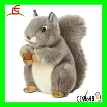 LE A0022 cute soft squirrel anima plush stuffed toy squirrel