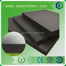 car soundproof materials/closed cell foam rubber sheet