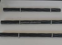 1*7-12.7mm 9.53mm PC steel strands for bridge