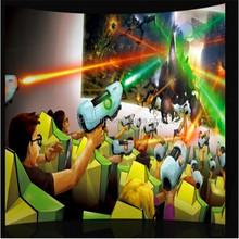 Amusement park rides 6d 7d 8d cinema simulator including games