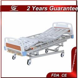 LG-M501 5-function medical equipment 4-crank manual medical bed