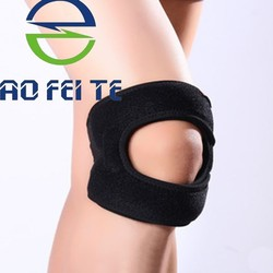 New Product Adjustable Neoprene Open Patella Compression Sleeve Support Knee Brace