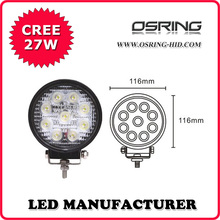 OSRING super bright high performance 27W led c ree work light