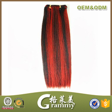 Best wholesale websites cheap high quality grade 5a straight red and black weave