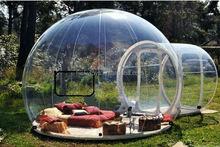 Top qualidade bolha claro barraca para venda, inflável bolha transparente barraca