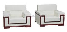 Modern Leisure New Design White Reception Sofa of Single Seat(FOH-8802)