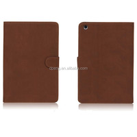 High quality leather waterproof cover case for ipad mini