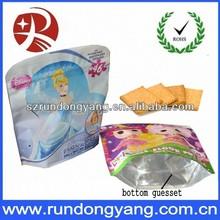 High quality aluminum foil ziplock bag for food